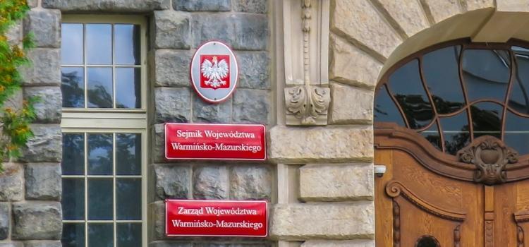 Otwarty konkurs ofert na realizację zadań publicznych Samorządu Województwa Warmińsko-Mazurskiego