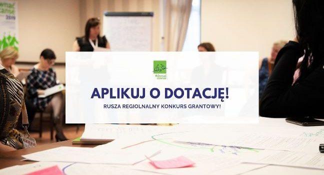 """Regionalny Konkurs Grantowy Programu """"Równać Szanse 2019"""""""